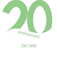 Stillwater Associates 20th Anniversary Logo